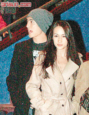 edison chen's girlfriend
